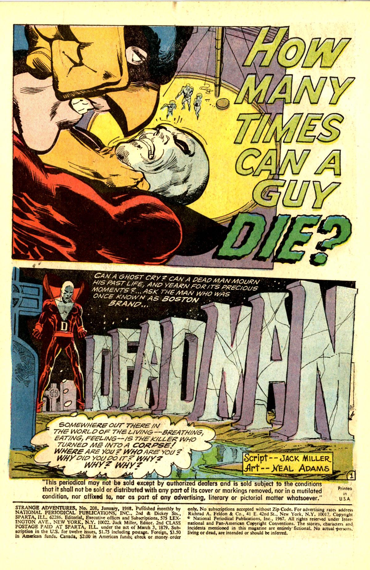 Strange Adventures (1950) issue 208 - Page 3