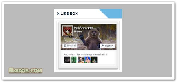 Like Box Fanspage Facebook