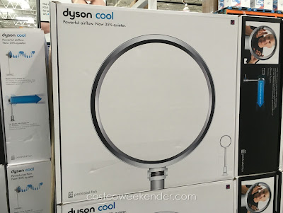 Costco 1035999 - Dyson AM08 Pedestal Fan - Powerful airflow with less noise and vibration