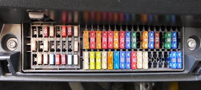 fuse box in skoda fabia cars  amp  fuses blade fuses  cars  amp  fuses blade fuses