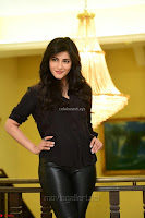 Shruti Haasan Looks Stunning trendy cool in Black relaxed Shirt and Tight Leather Pants ~ .com Exclusive Pics 049.jpg