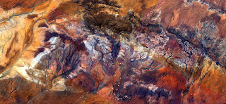 autumnal colors,abstract photography deserts of Australia from the air,abstract landscapes of deserts bird's eye
