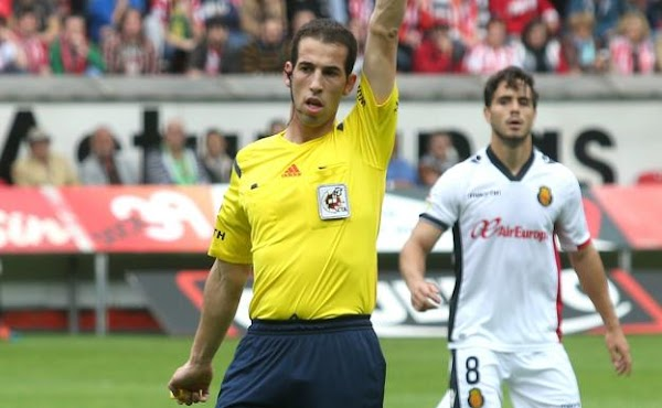 David Pérez Pallás pitará el Málaga - Mallorca