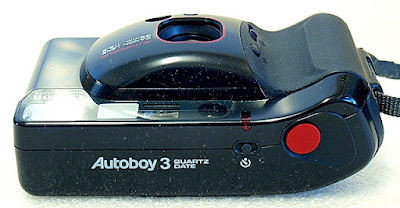 Canon Autoboy 3. Top