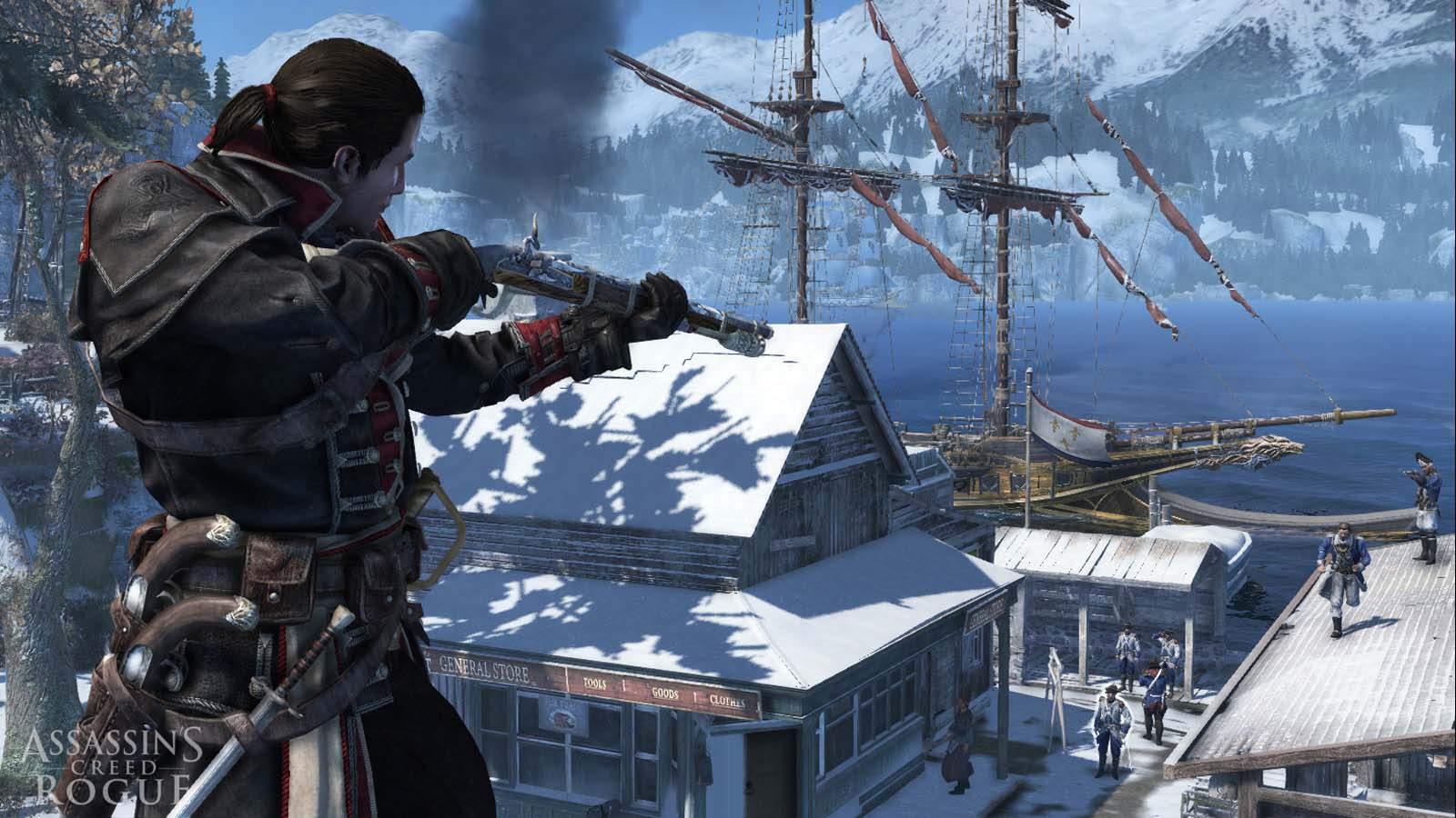 تحميل لعبة Assassin's Creed Rogue مضغوطة برابط واحد مباشر كاملة مجانا