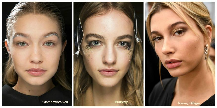 Fall 16 Makeup trends glitter 2