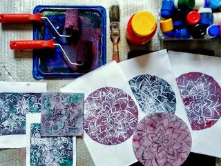 16 Fev, 14h: Oficina de Gravura Alternativa e Impressão Artesanal -Isogravura