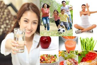 Lakukan pola berikut untuk tubuh tetap sehat