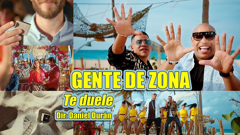Gente de Zona - ¨Te duele¨ - Videoclip - Director: Daniel Durán. Portal Del Vídeo Clip Cubano