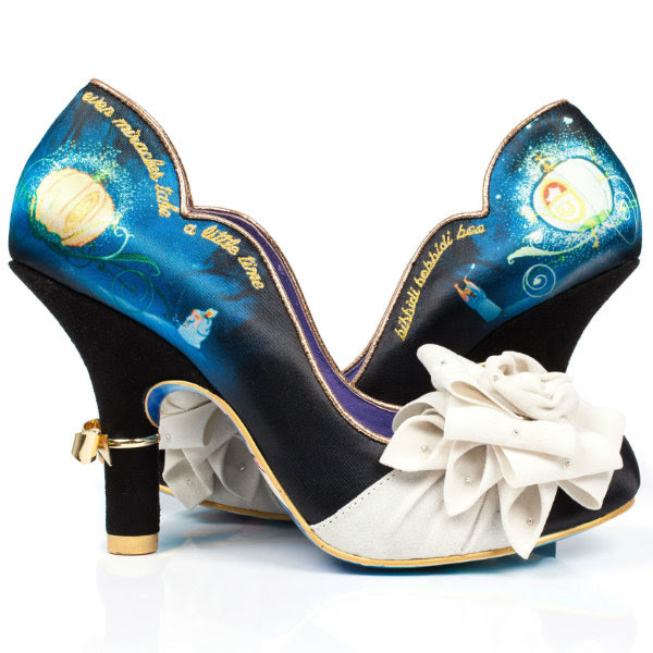 irregular choice cinderella Bibiddi Bobbidi court shoes