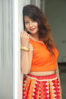 Shubhangi Bant in Orange Lehenga Choli Stunning Beauty ~  Exclusive Celebrities Galleries 022.JPG