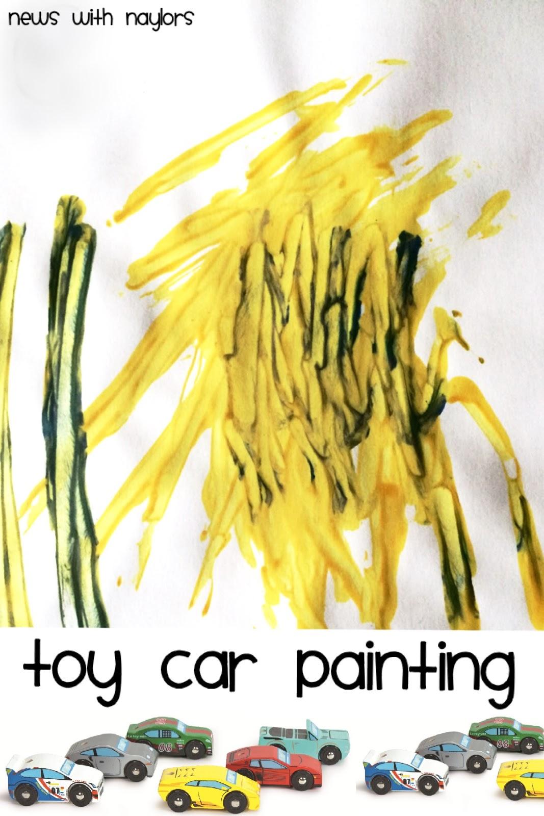 News With Naylor S Letter C Car Painting Rainbow Car