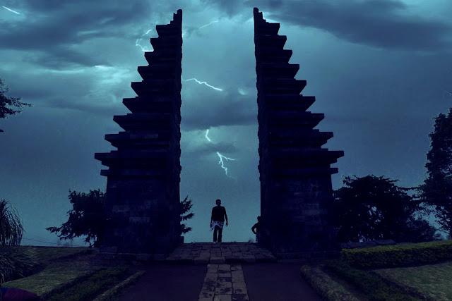 Candi Cetho lereng Gunung Lawu