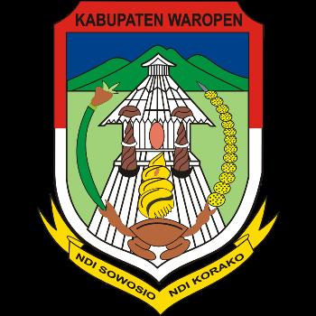 Logo Kabupaten Waropen PNG
