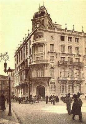 Foto de la fachada del Centro del Ejército y de la Armada de Madrid en 1934