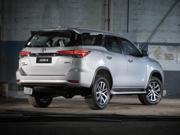 Toyota SW4 2017 Latin NCAP