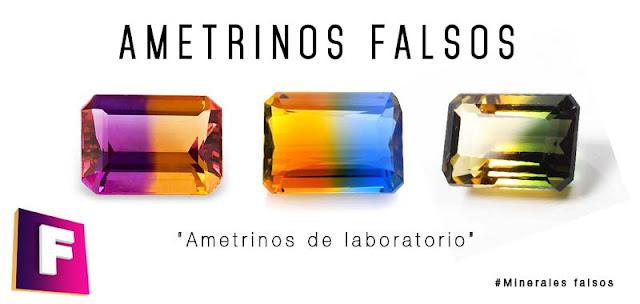 ametrinos falsos - bolivianita citrino   foro de minerales