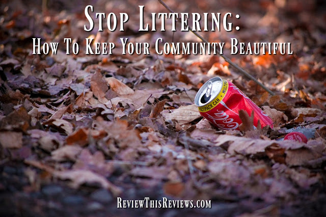 Let's review how we might apply spring cleaning to the great outdoors and stop littering in the process.