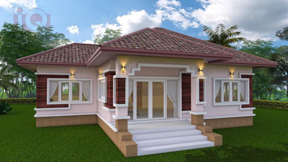 For many people who are looking for a house to buy or design to build, single-story home is the latest choice. This is because a one-story house is easy to build, not expensive, comfortable, and has the flexibility in design and interiors to be decorated as per your desires.  In terms of comfort, ventilation, and lighting,  a single-story house has remarkable advantages. At the same time, the special focus in design these days is on the wall decorations, the doors, and windows. However, single-story houses are more common in modern style nowadays. Check out the following nine beautiful single-story house plans we compiled for you from Kismet Designs. If you are looking for some inspiration that you can imitate in designing, here are some for you!  You may also browse until the bottom of this page where you can see House Design No. 10 — the only two-story home in this list that is also modern and sophisticated!