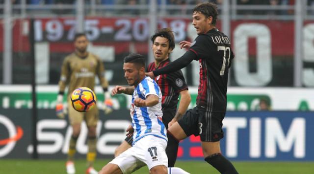 Pescara vs Milan