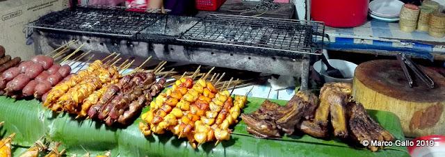NIGHT MARKET FOOD DISTRICT, LUANG PRABANG, LAOS