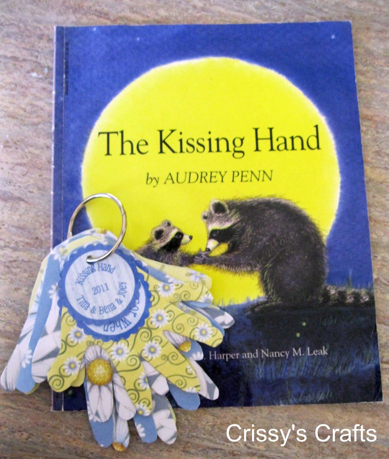 Crissy S Crafts Kissing Hand Keys