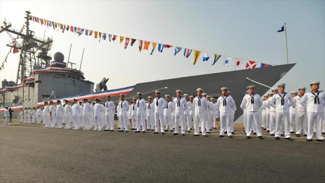 """Taiwán estrena 2 buques de guerra de EEUU ante """"amenaza china"""""""