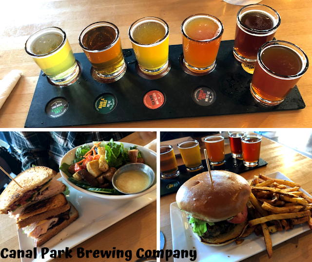 All around deliciousness at Canal Park Brewing Company!