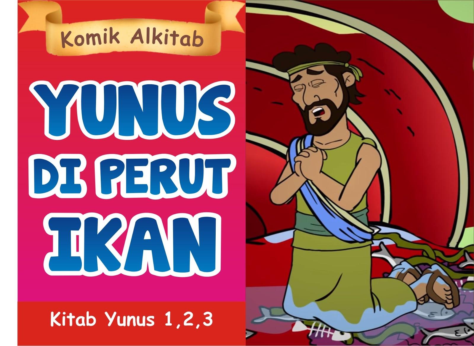 Komik Alkitab Anak Yunus Di Perut Ikan