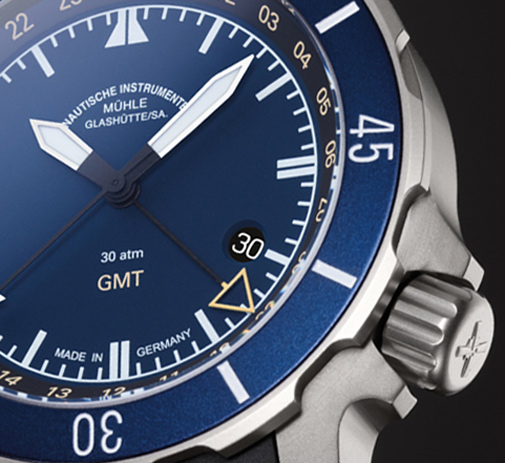 Mühle-Glashütte - Seebataillon GMT | Time and Watches | The