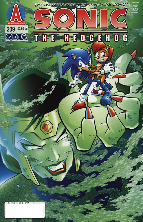 Read online Sonic The Hedgehog comic -  Issue #209 - 1