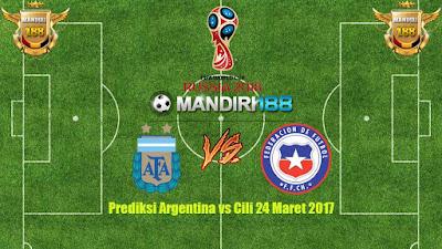 AGEN BOLA - Prediksi Argentina vs Cili 24 Maret 2017