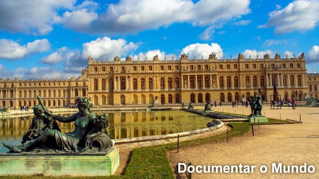 Jardins de Versalhes; Les jardins de Versailles; Avenida Real; Tapis Vert; Palácio de Versalhes; Château de Versailles;
