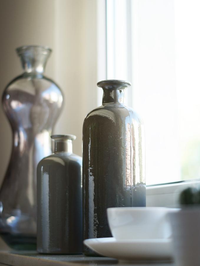 Blog + Fotografie by it's me! | fim.works | VELUX Mückenschutz | Glasflaschen als Deko
