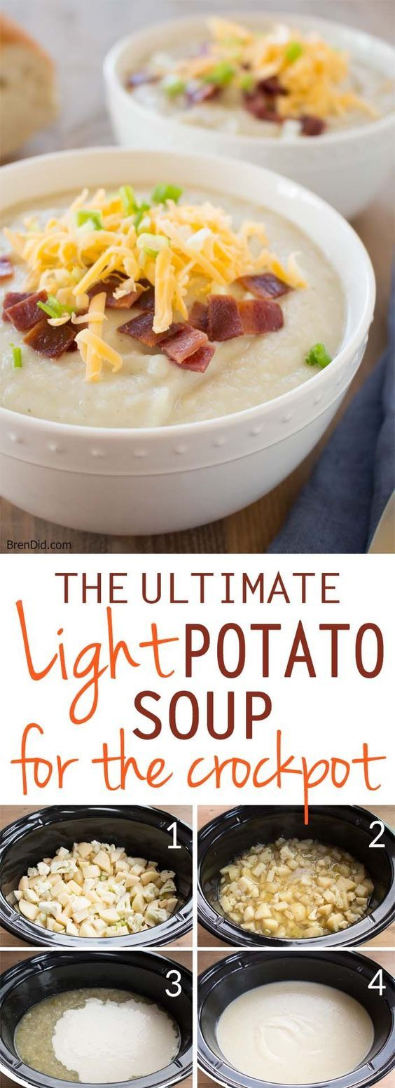 The Ultimate Light Potato Soup For Crock Pot
