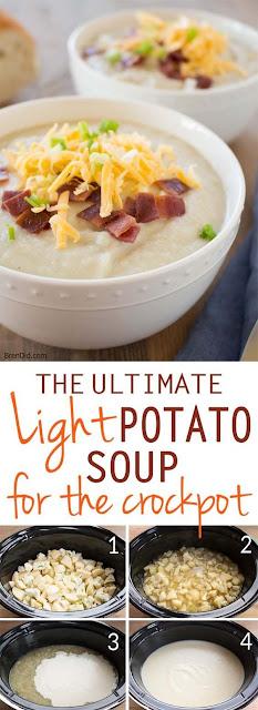 The Ultimate Light Potato Soup For Crock Pot