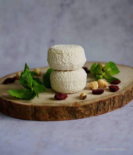 fromage de chèvre , moelleux , Rians
