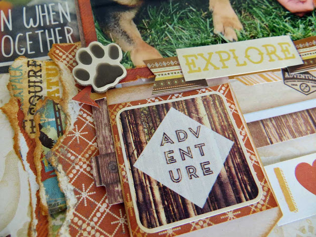 Boyz of Summer One Layout Three Ways by Lynn Shokoples for BoBunny featuring the Take A Hike Collection.