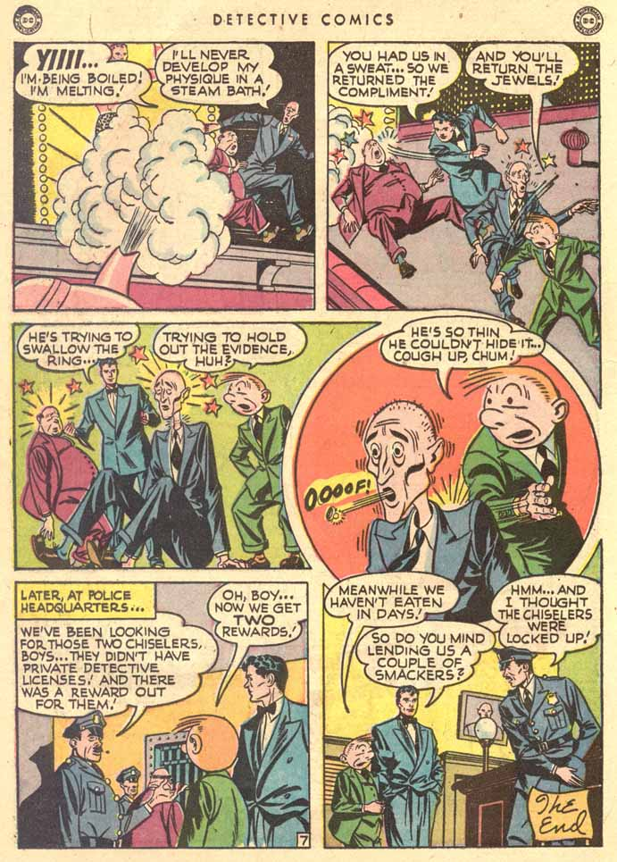 Read online Detective Comics (1937) comic -  Issue #147 - 24