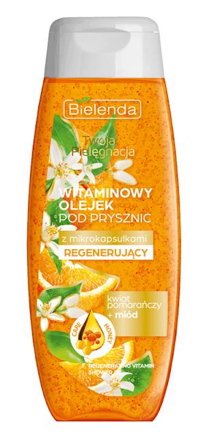 Bielenda witaminowy olejek pod prysznic z mikrokapsułkami regenerujący