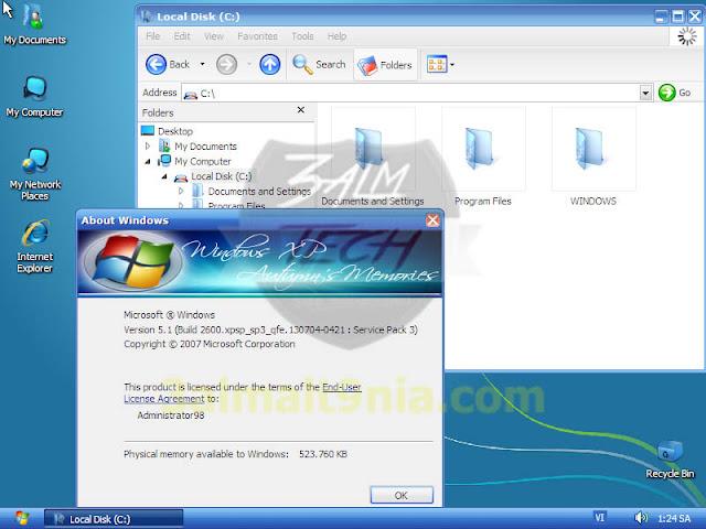 WindowsXP Luxury PLUS - عالم التقنيه
