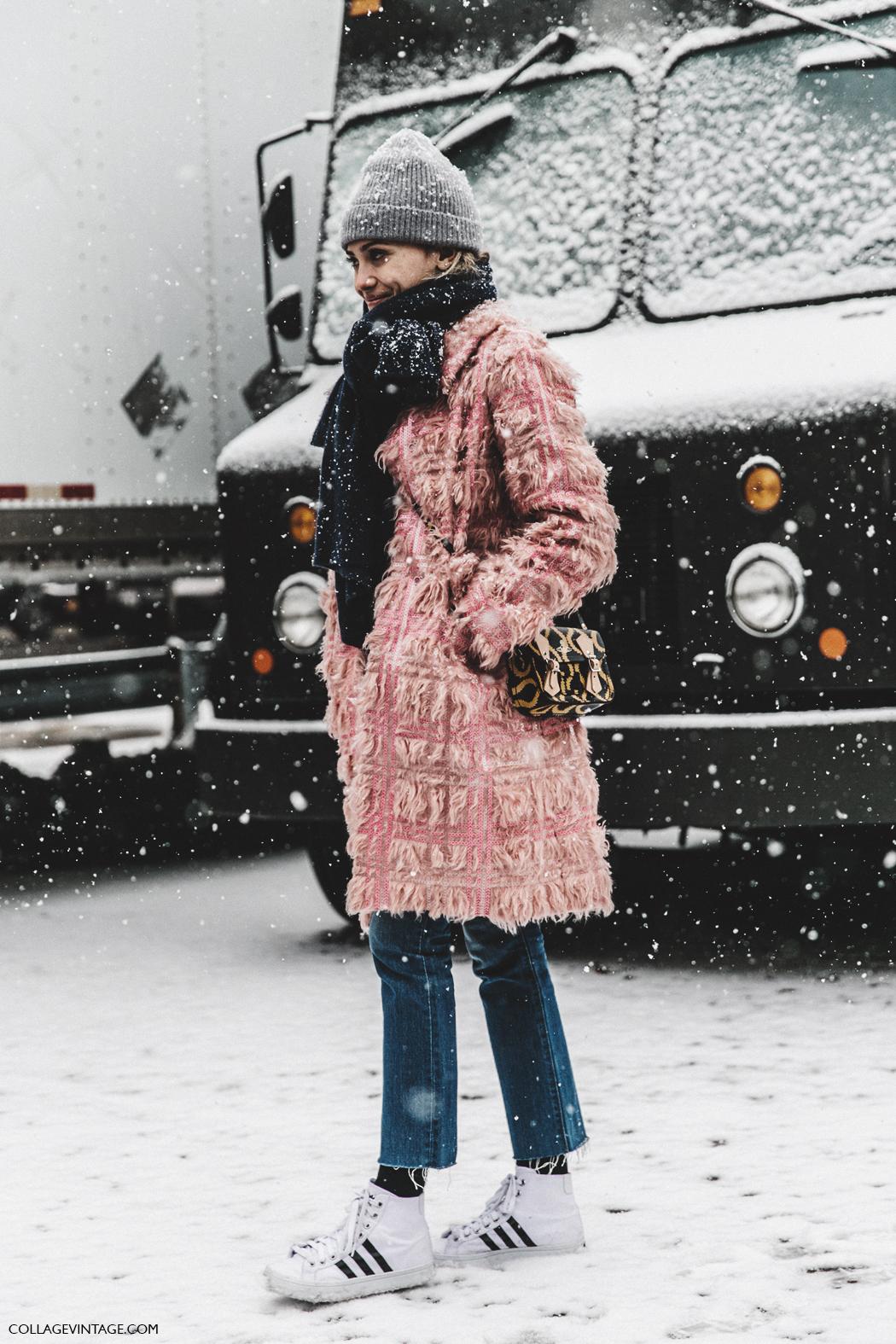 Street Style New York Fashion Week February 13 2016