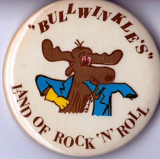 Bullwinkle's club button