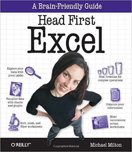 Head First Excel: A learner's guide to spreadsheets 1st Edition