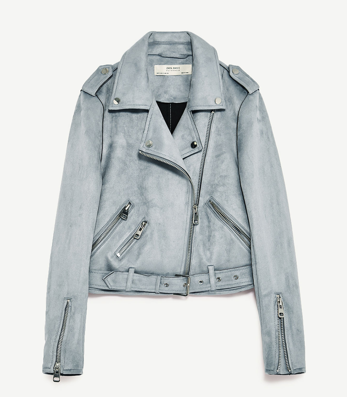 Buy Zara Suede Jacket