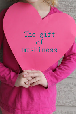 The gift of mushiness