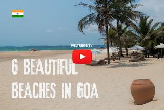 WELTREISE VLOG 137 Die 6 schönsten Strände in Goa | INDIEN