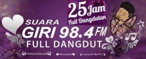 Streaming Radio Suara Giri 98.4 FM Gresik Surabaya