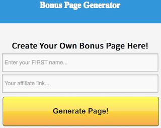 [GIVEAWAY] Bonus page Generator (Worth $97)