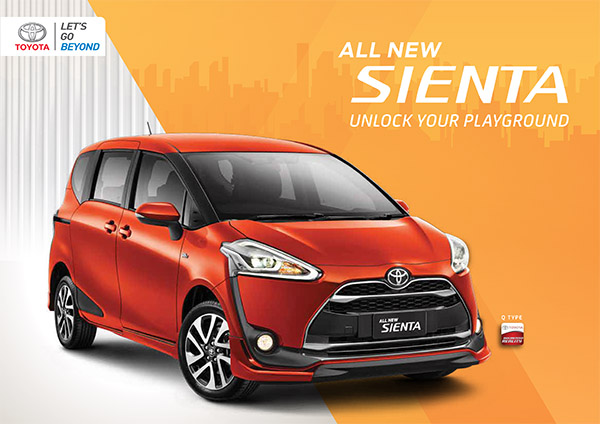 Brosur Toyota All New Sienta